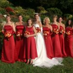 Wedding party in Westerly, RI.